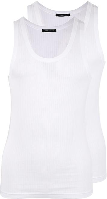Schiesser Singlet White 2-Pack