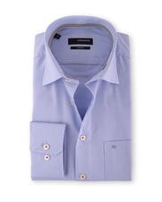 Seidensticker Overhemd Blue Dessin