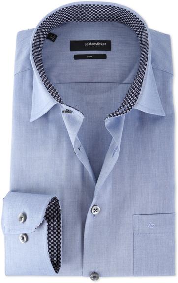 Seidensticker Shirt Uno IJsblauw