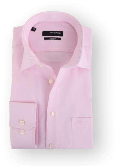 Seidensticker Splendesto Overhemd Roze