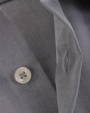 Detail Seidensticker Strijkvrij Overhemd Grijs