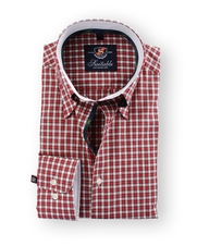 Shirt Hoge Boord English Red Check