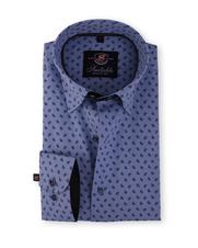 Slim Fit Overhemd Blue Drops 116-4
