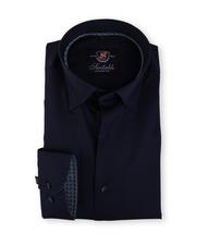 Slim Fit Overhemd Donkerblauw 116-6