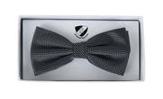 Bow Tie Silk Dark Grey