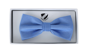 Bow Tie Silk Blue