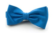 Silk Bow Tie Light Kobalt F19
