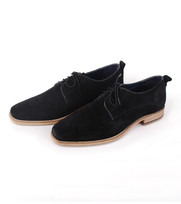 Suede Schoen Suitable Black