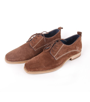 Suede Schoen Suitable Brown