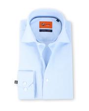 Suitable Blauw Overhemd Slim Fit D61-16