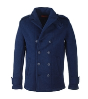 Suitable Blazer Cardigan Wol Navy
