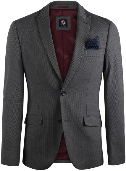 Suitable Blazer Kros Zwart Wit