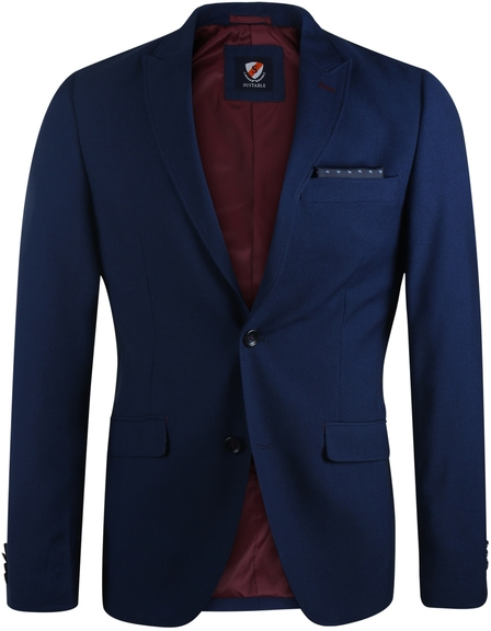Suitable Blazer Vogar Navy