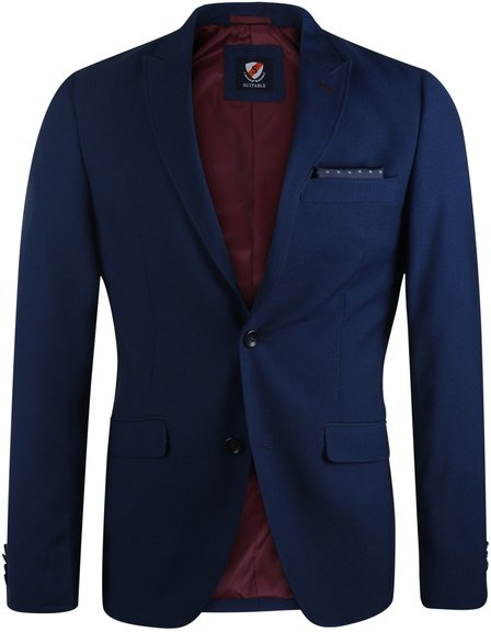 Suitable Blazer Vogar Donkerblauw