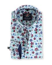 Suitable Bloemetjes Overhemd 129-6