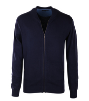 Suitable Bomber Vest Donkerblauw