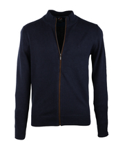 Suitable Cardigan Navy Zip