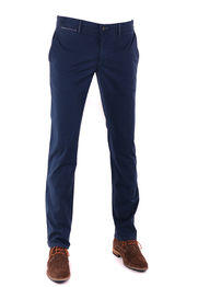 Suitable Chino Broek Dark Blue