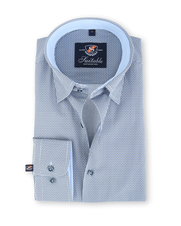 Suitable Overhemd Blauw 131-5