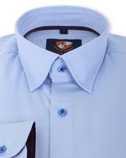 Detail Suitable Overhemd Blauw 133-2