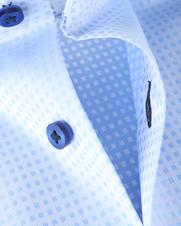 Detail Suitable Overhemd Blauw 62-12