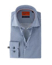 Suitable Overhemd Blue Cubes 62-09