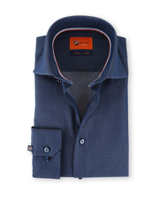 Suitable Overhemd Donkerblauw 62-02