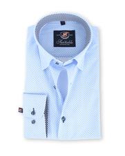 Suitable Overhemd Lichtblauw Pinpoint 131-4