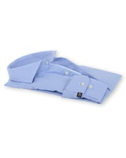 Detail Suitable Overhemd Strijkvrij Blauw 135-3