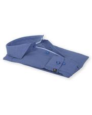 Detail Suitable Overhemd Strijkvrij Blauw 135-6