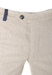 Detail Suitable Pantalon Twill Beige