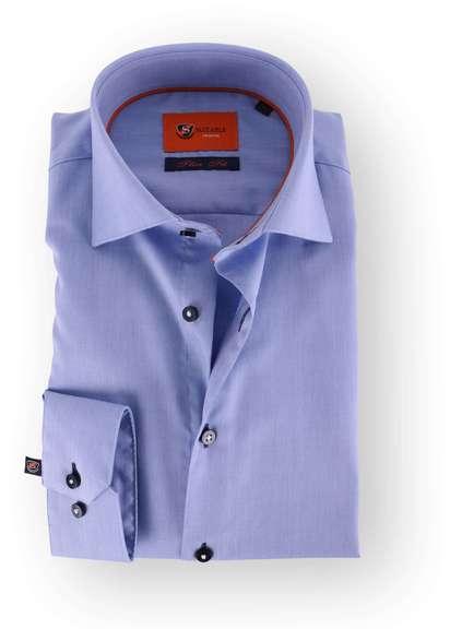 Suitable Premium Overhemd Pale Blue