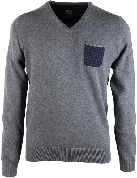 Suitable Pullover Pocket Grey