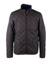Suitable Quilted Jacket Antraciet Grijs
