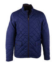 Suitable Quilted Jacket Blauw