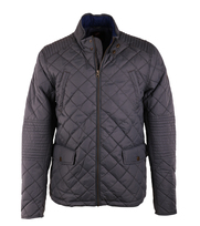 Suitable Quilted Jacket Light Grijs