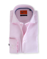 Suitable Roze Overhemd Slim Fit D61-01
