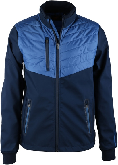 Suitable Softshell Spur Jacket Blauw