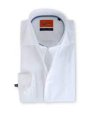 Suitable Weiß Hemd Slim Fit DR-01