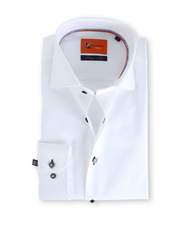 Suitable Wit Overhemd Slim Fit D61-10
