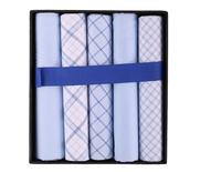 Suitable Zakdoeken Blauwe Ruit