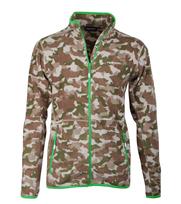 Tenson Fleece Vest Miller Camouflage
