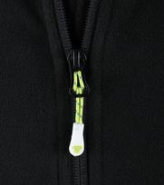 Detail Tenson Fleece Vest Miller Zwart