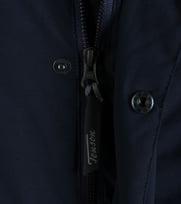 Detail Tenson Mawin Winterjas Donkerblauw