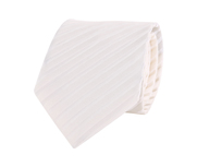 Profuomo Wedding Tie Off White Stiped