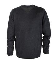 Pullover Merino V-Ausschnitt Anthrazit