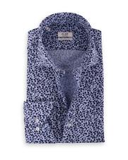 Van Gils Edar Shirt Blue Print