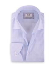 Van Gils Ellington Shirt Blauw Print