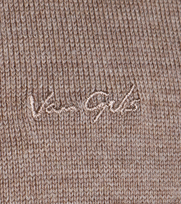 Detail Van Gils Gilet Basico Bruin