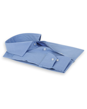 Detail Van Gils Shirt Tailor Fit Blauw